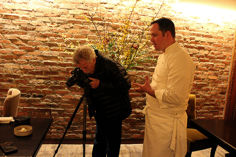 Battman with Bryce Shuman, Executive Chef at Betony