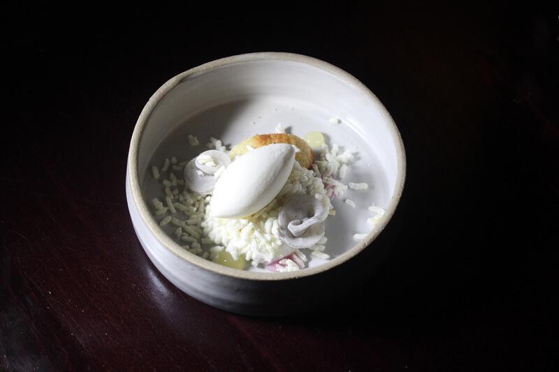 Jasmine Rice with Meyer Lemon and Lavender Mochi