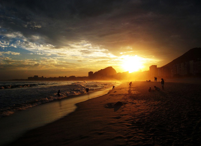 Sunset in Brazil - Justin Warner
