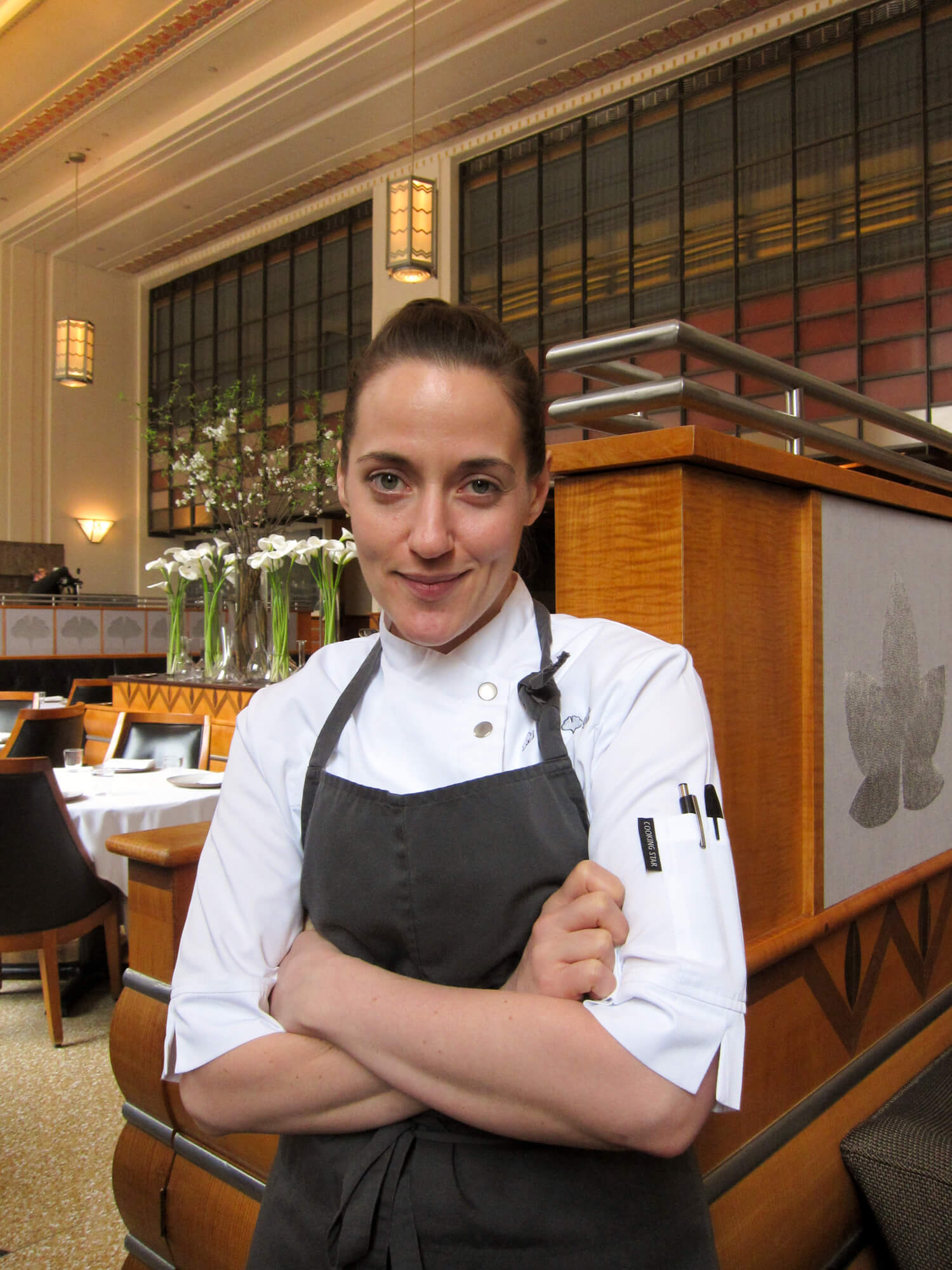 Using an iPhone in the Cold: Executive Pastry Chef Angela Pinkerton's Clever Trick