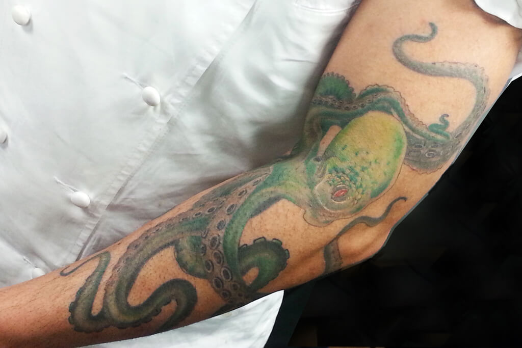 Looks Can Be Deceiving: Pastry Chef Mauricio Santelice's Tattoo