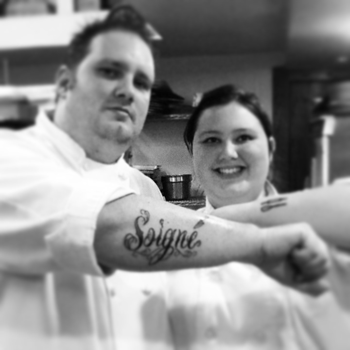 Family Matters: Executive Chef Richard Sweed's Tattoo