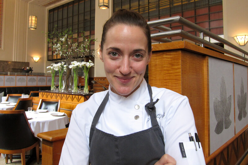 From Burger King to Eleven Madison Park: Angela Pinkerton