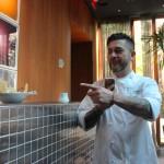 Mauricio Santelice describing dessert