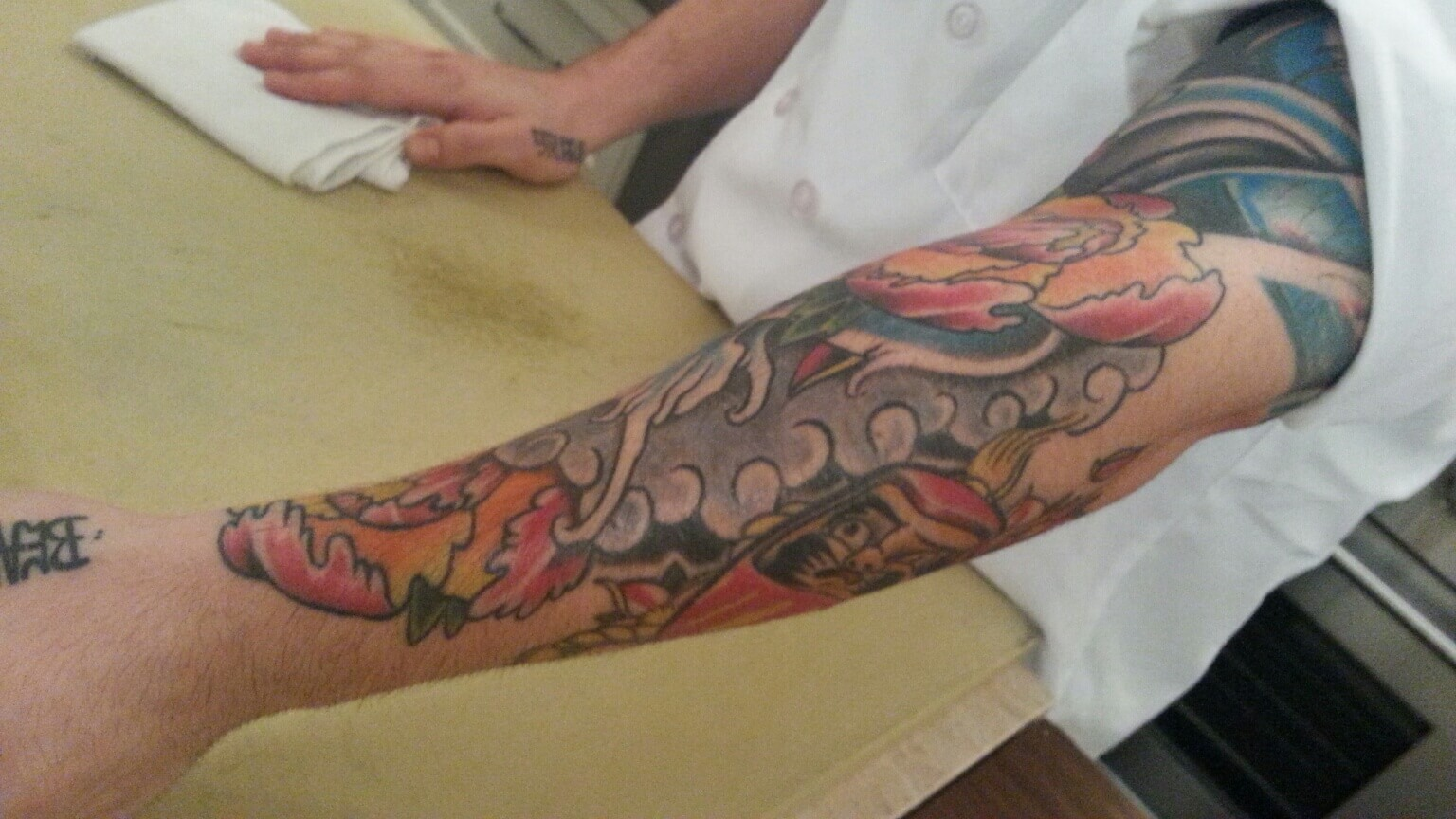 Legend of the Koi Fish: Sous Chef Ivan Barros' Tattoo