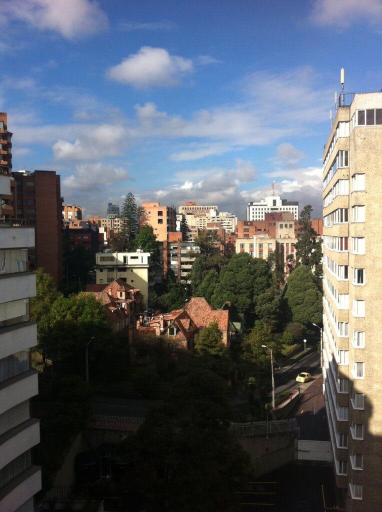 From Room at El Nogal, Bogota