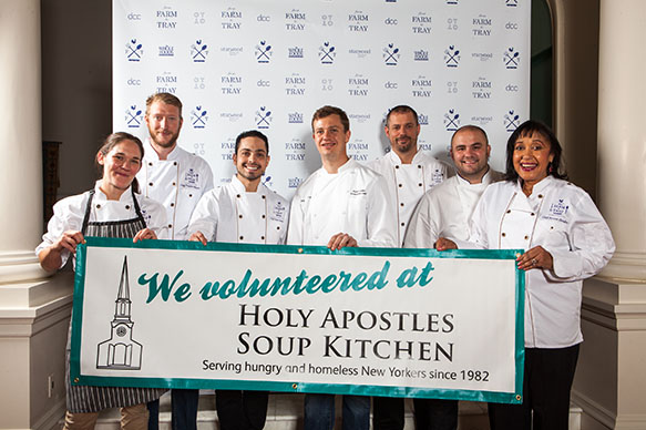 From Farm to Tray to Benefit Holy Apostles Soup Kitchen