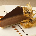 Milk Chocolate Mousse Pie by Pastry Chef Cindy Bearman. Photo by Battman.