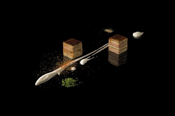Foie Gras and Eel Terrine by Joel Robuchon, from the Small Things Savory eBook, Photo by Battman