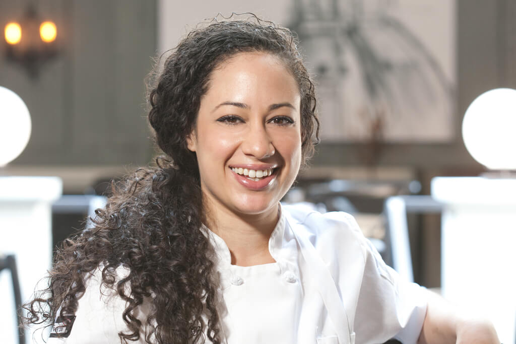 Patricia Vega, Sous Chef at Sotto 13