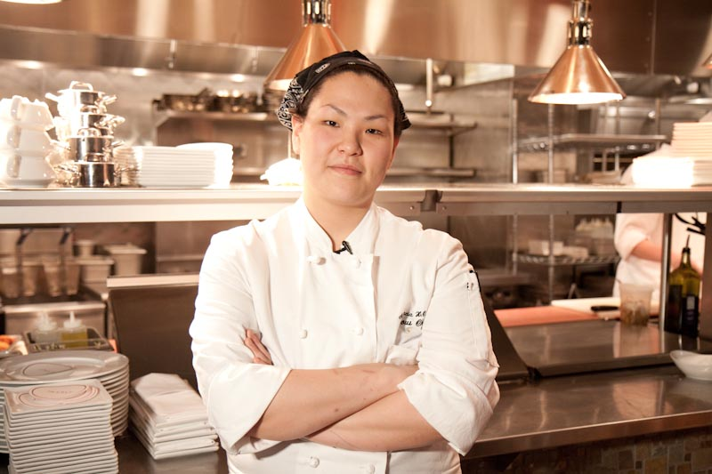 Anastacia Song, the Illustrated Sous Chef