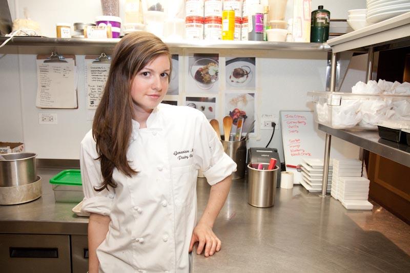 Pastry Chef Genevieve Meli's Savory Secret