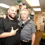 Spice Market's Executive Chef Anthony Ricco with Battman