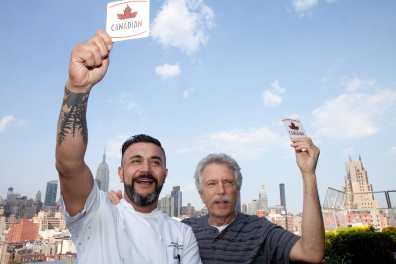Canada Day in New York with Executive Pastry Chef Mauricio Santelice and Battman