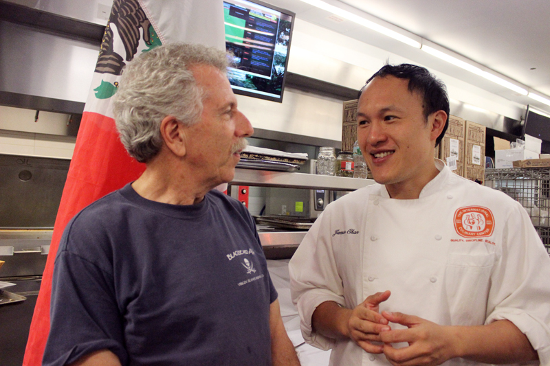 Battman chats with Jansen Chan, Director of Pastry Operations