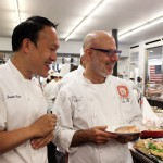 Director of Pastry Operations Jansen Chan with Guest Master Pastry Chef Ron Ben-Israel