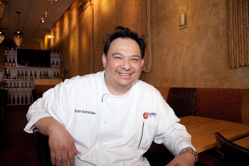 Executive Chef Ricky Estrellado Loves Bad Burgers