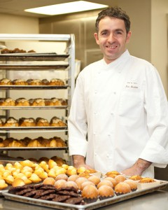 Eric Bertoia and Team at the Epicerie Boulud Pastry Kitchen