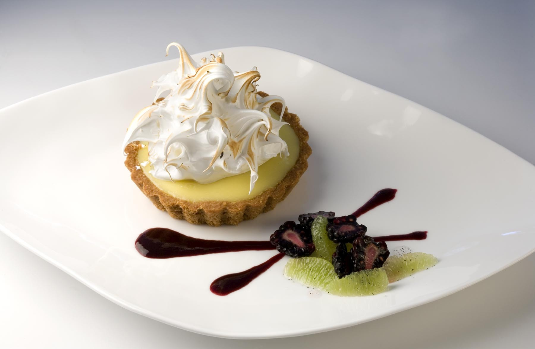 Key Lime Pudding by Beth Pilar and Ellen Sternau, Chef/Owners of How Sweet It Is NYC. Photo by Battman.