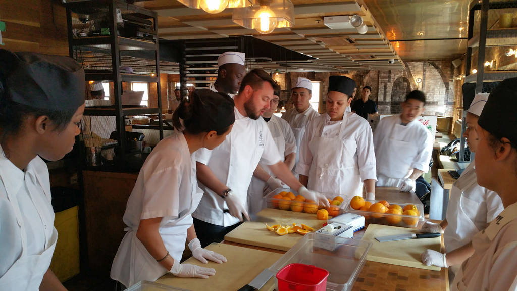 school for line cooks free job skills training