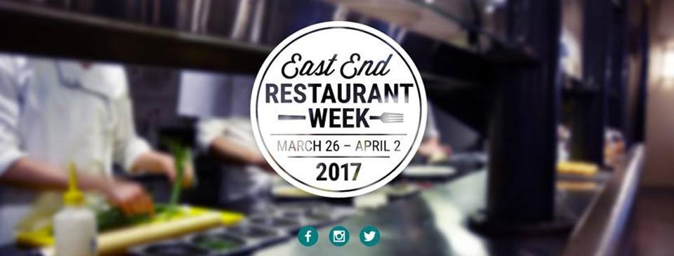 East End Restaurant Week 2017