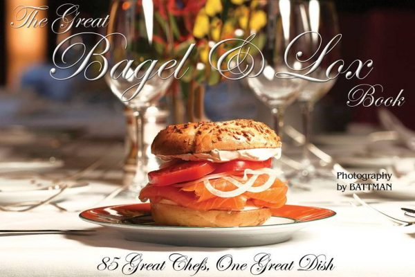 Cover image for The Great Bagel and Lox Book. 2017
