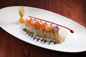 Open Ocean Cobia Crudo by Bernard Guillas. Photo by Battman.