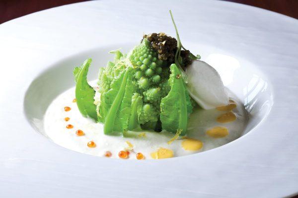 Cauliflower Vichyssoise by Eric Truglas. Photo by Battman.