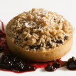 Huckleberry Streusel Pie by Pastry Chef Jennifer McCoy. Photo by Battman.