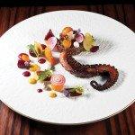 Charred Spanish Octopus by Marc Ehrler. Photo by Battman.