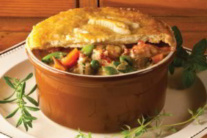 Pearl Oyster Bay Lobster Pot Pie by Chef Rebecca Charles. Photo by Battman.