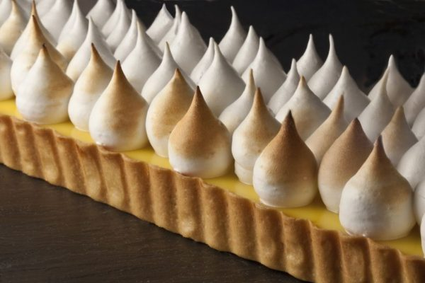 Lemon Meringue and Praline by Pastry Chef Robert Truitt. Photo by Battman. Pies, cookbook, ebook
