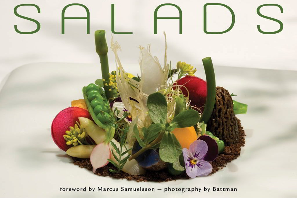 Cover image for Salads ebook. 2017