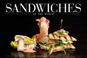 Cover image for Sandwiches of the World ebook. 2017