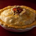 Savory Winter Vegetable Pie by Chef Alex Guarnaschelli. Photo by Battman.