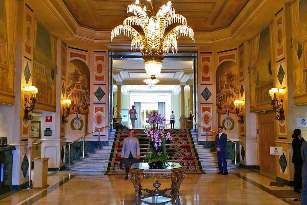 Image of Westin Palace in Madrid, Spain.