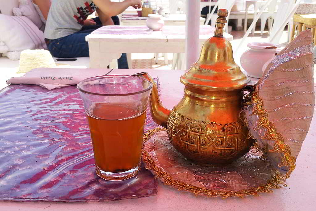 Tea time in Marrakesh. 2017