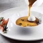 Lobster Pumpkin Bisque by Xavier Salomon. Photo by Battman,