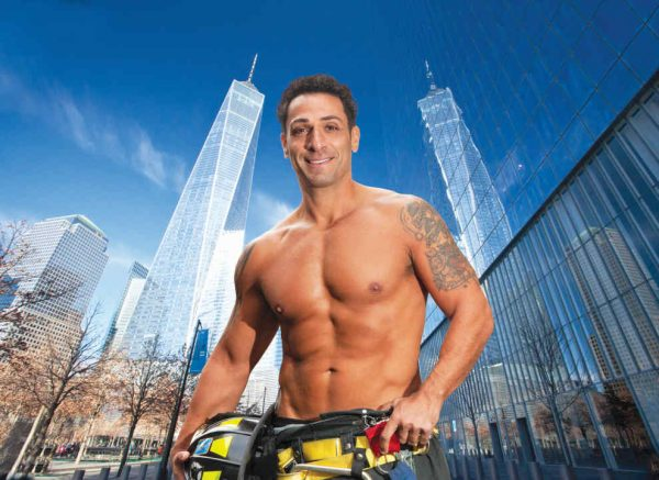 Basil Soletti - NYC Firefighters Calendar - 2018