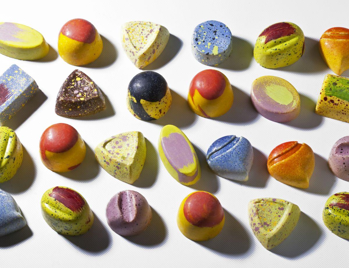 Chocolate Bonbons with Ganache by Antonio Bachour. Photo by Battman.