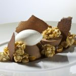 Chocolate Mousse with Candied Peanuts and Popcorn by Antonio Bachour. Photo by Battman.
