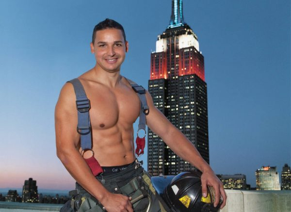Jimmy Sanchez - NYC Firefighters Calendar - 2018