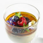 Lemongrass Flan with Berries by Antonio Bachour. Photo by Battman.