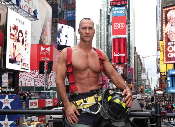 Robert Morgan - NYC Firefighters Calendar - 2018