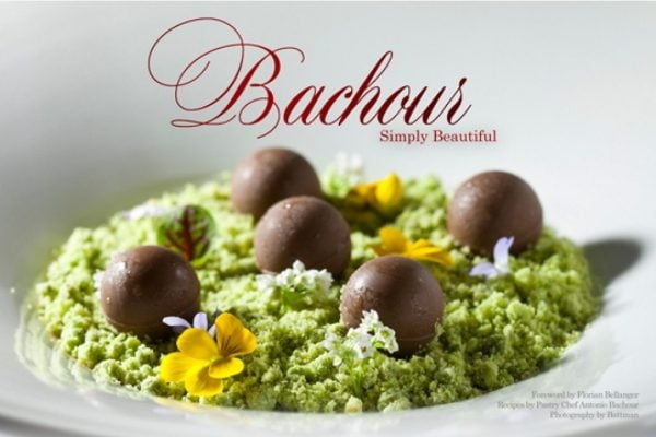 Cover for Bachour: Simply Beautiful eBook edition by Pastry Chef Antonio Bachour, Photography by Battman.