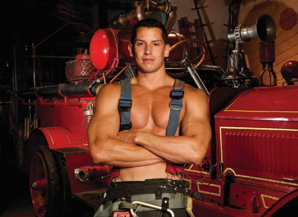 Tommy Balukas - NYC Firefighters Calendar - 2018