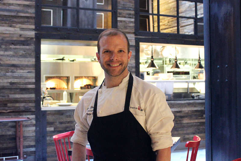 Executive Pastry Chef Zac Young