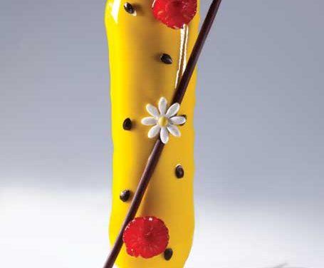 Passion Fruit Eclair, Bachour the Baker. Photo by Battman.