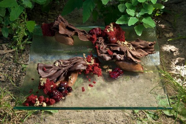 Black Forest by Chef Genevieve Meli. Photo by Battman. Sweet Nature cookbook, ebook, 2016.