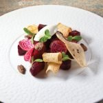 Beet Salad with Mascarpone by Guy Reuge. Photo by Battman.
